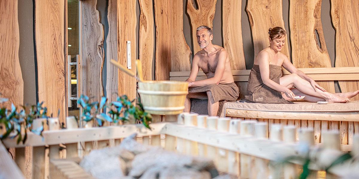 Sauna-Startseite